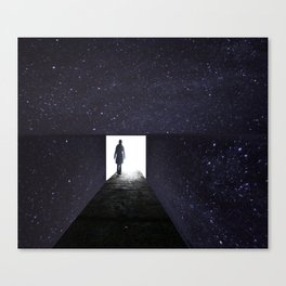 Stars Way To Heaven Canvas Print