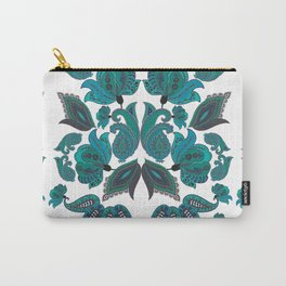 Peacocks Paisleys Carry-All Pouch
