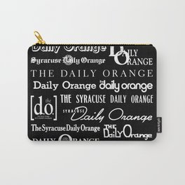 Daily Orange Flag Print - Inverse Carry-All Pouch