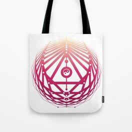 Radiant Abundance (white-sunrise) Tote Bag