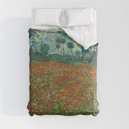 Vincent van Gogh - Poppy Field (1890) Comforters