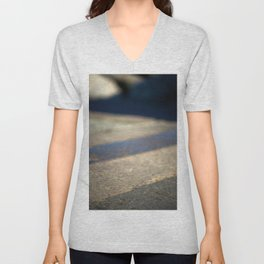 Abstract pavement Unisex V-Neck