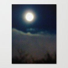 Symphony of Moon Canvas Print