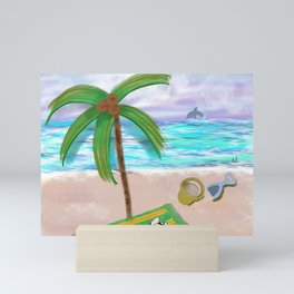 Play at Sea Mini Art Print