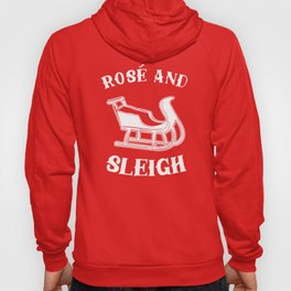 Rose And Sleigh Hoody