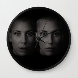 Twin sisters Wall Clock