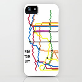 NYC Subway iPhone Case