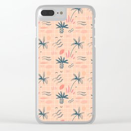 Summery Clear iPhone Case