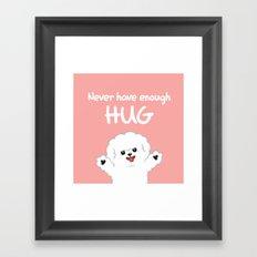 Hug-Bee Framed Art Print