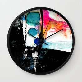 Ecstasy Dream No. 8 by Kathy Morton Stanion Wall Clock