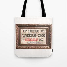 Home is where the  Tote Bag