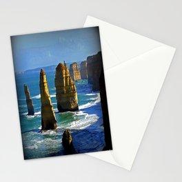 Limestone Rock Stacks - Twelve Apostles Stationery Cards
