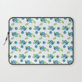 Blueberry Watercolour Pattern Laptop Sleeve
