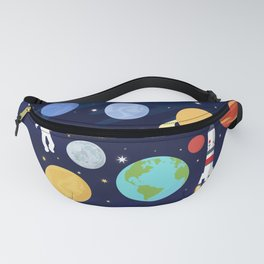 In space Fanny Pack