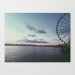 Sunsets in Seattle Canvas Print