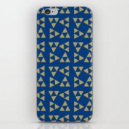 Print 130 - The Legend Of Zelda - Blue iPhone Skin