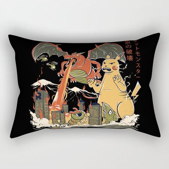 Out Of Control II Rectangular Pillow