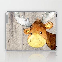 Woodland Friends - Little Deer In Forest Laptop & iPad Skin