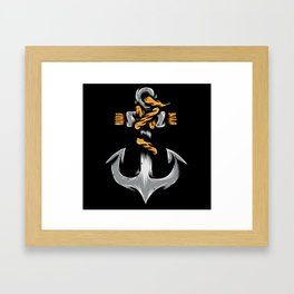 Quick Anchor Framed Art Print