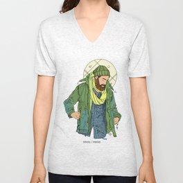 Jesus from New York Unisex V-Neck