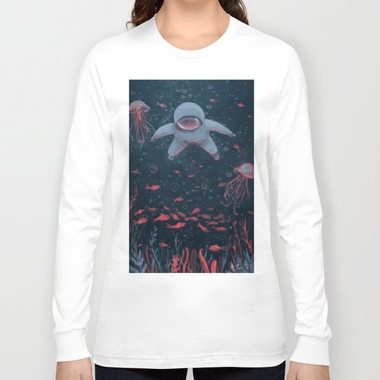 Floating in Space Long Sleeve T-shirt