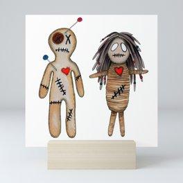"VoodoDoll ""Couple"" Mini Art Print"