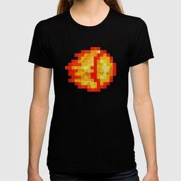 Polygon Pixel Fireball Hadouken - Street Fighter T-shirt