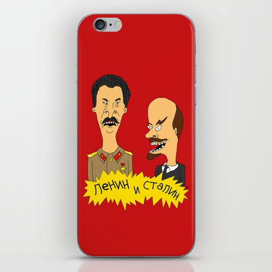 Lenin and Stalin iPhone & iPod Skin