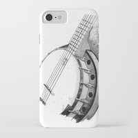 banjo iPhone & iPod Cases featuring Banjo by Ashley Silvernell Quick