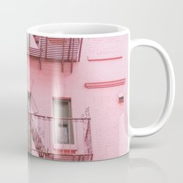 Pink Soho NYC Coffee Mug