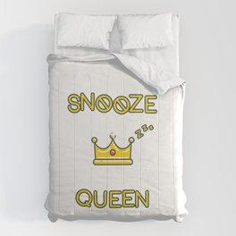 Snooze Queen Comforters