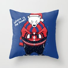Where is The Food Throw Pillow