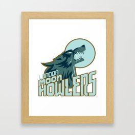 london howlers Framed Art Print