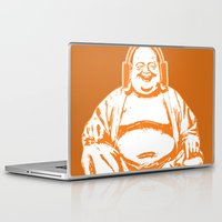 buddah Laptop & iPad Skins featuring Buddah Beats by ALLGOLD Creative