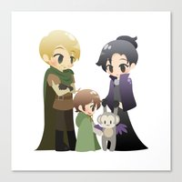 ouat Canvas Prints featuring OUAT - Outlaw Queen by Choco-Minto