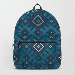 Grandma's design #2. Baltic Stars Backpack