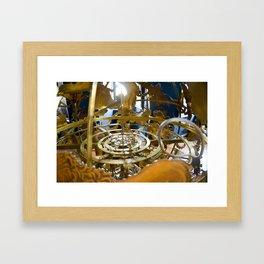Precious Globus in Hillerod, Frederiksborg castle, Denmark Framed Art Print