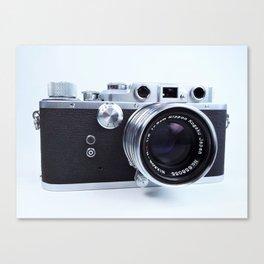 1950s Nicca Rangefinder Camera Canvas Print