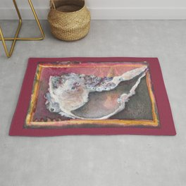 Conch with Barnacles Rug