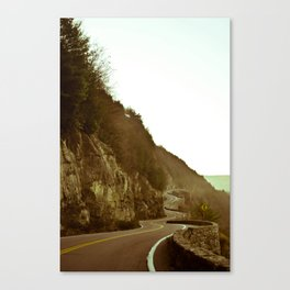The Road To Walmart  Canvas Print