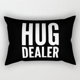 HUG DEALER (Black & White) Rectangular Pillow