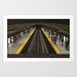 mtl metro Art Print