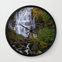 Cascade de Herisson Wall Clock