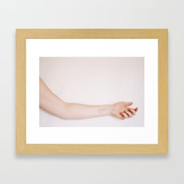 She Would Call Out - Come Here Framed Art Print