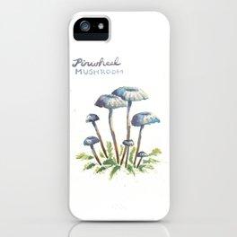 Pinwheel Mushrooms iPhone Case
