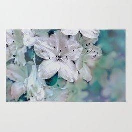 White Azaleas Rug