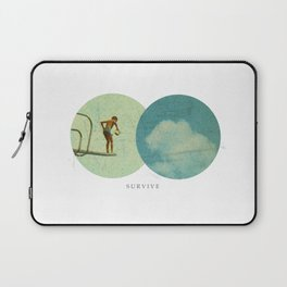 Survive | Collage Laptop Sleeve