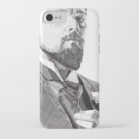 leonardo dicaprio iPhone & iPod Cases featuring Leonardo by Rik Reimert