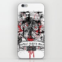 zombie iPhone & iPod Skins featuring Zombie by DaeSyne Artworks