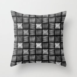 Draw simple 4 Throw Pillow